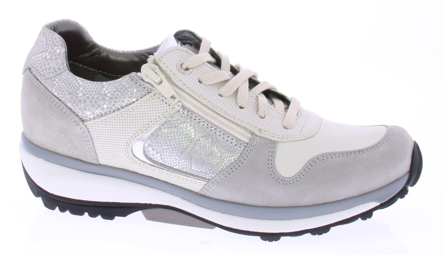 Schoenmode Wit Jersey Klijsen Xsensible Greyzilver Zilver qPanEqXw